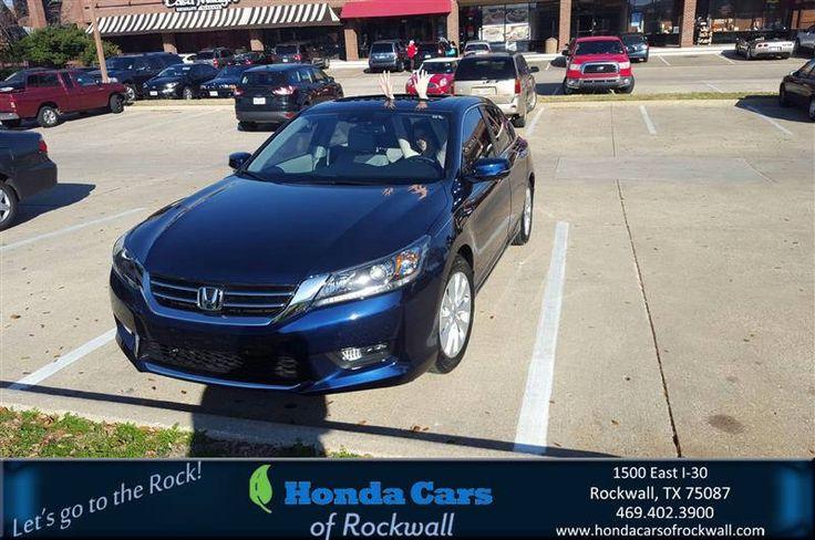 https://flic.kr/p/ErD9WR | Congratulations Erin on your #Honda #Accord Sedan from Scott Durkin at Honda Cars of Rockwall! | deliverymaxx.com/DealerReviews.aspx?DealerCode=VSDF
