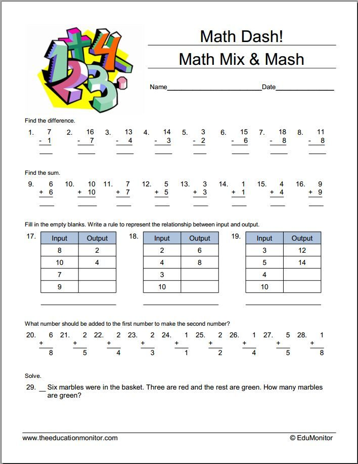 32 best First Grade Worksheets images on Pinterest | Common core ...