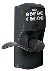 Electronic Keypad Lock  - perfect gift idea for someone who has too many keys and not enough hands! #giftidea #holiday
