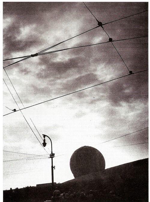 photographer of the month: Václav Chochola, Prague gasometer, 1944