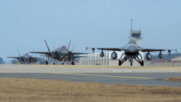 #DESTACADAS:  Corea del Sur y EEUU inician su mayor maniobra aérea conjunta - El Diario de Coahuila
