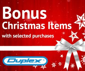Christmas promotion is now on! Duplex is offering bonus Christmas items with selected purchases. Read more on http://duplexcleaning.com.au/christmas-promo-2016.html