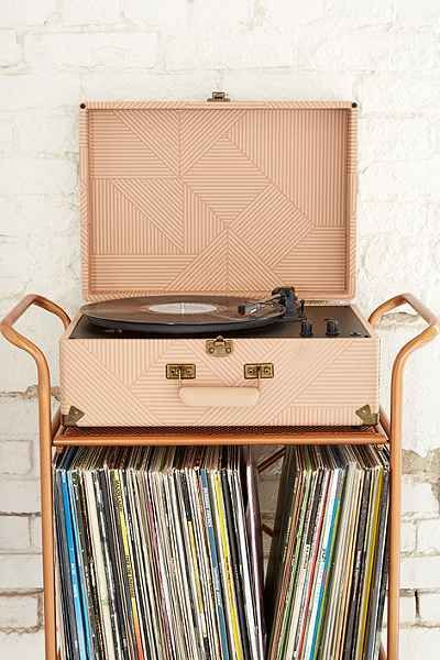 Crosley Portable USB Vinyl Record Player - on sale for $130!