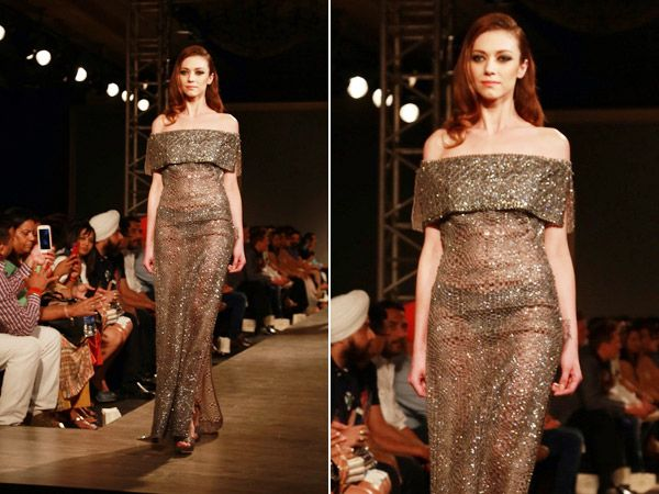 Manav Gangwani Couture's Le'amoureuse at #AICW2015... Take a look!