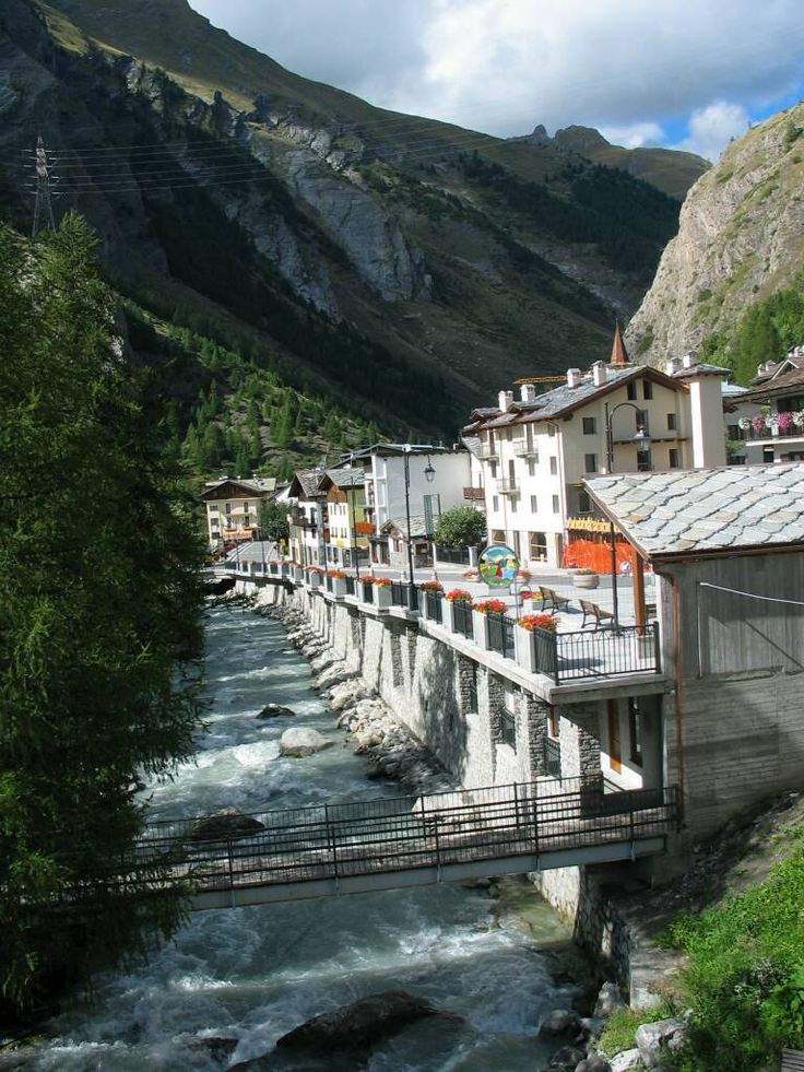 Aosta Valley - La Thuile, Italy. Go to www.YourTravelVideos.com or just click on photo for home videos and much more on sites like this.