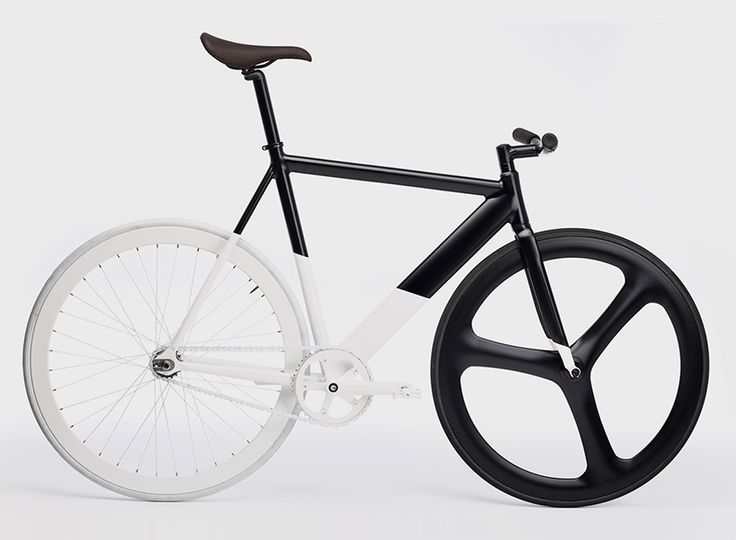eltipo graphics black-white fixie bicycle is a monochromatic masterpiece
