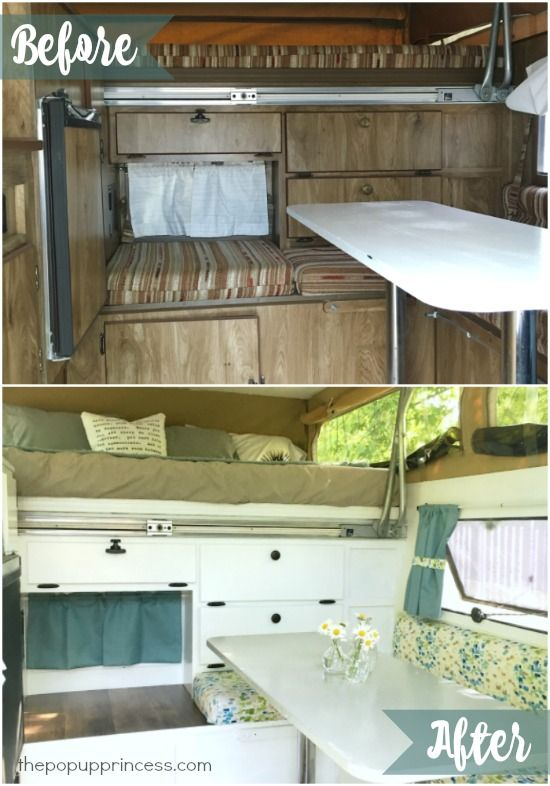 What a gorgeous makeover!  It doesn't even look like the same camper.  I'm in love!