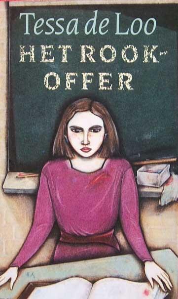 Tessa de Loo Het rookoffer  'Het rookoffer' is het verhaal van een tragische liefde tussen een lerares en een leerling op de middelbare school. Op een heel suggestieve en overtuigende manier - het vertelprocédé voert de lezer stap voor stap terug in de tijd - schetst dit boek de onmogelijkheid van een dergelijke verhouding binnen het schoolmilieu. Het is ten slotte de vrouw die, bespot, verraden en in de steek gelaten, moet boeten.