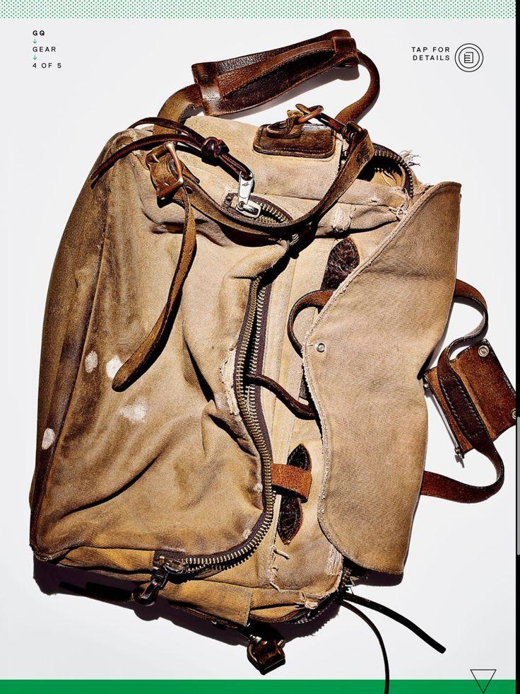 Nicely worn Filson bag. Calssic!