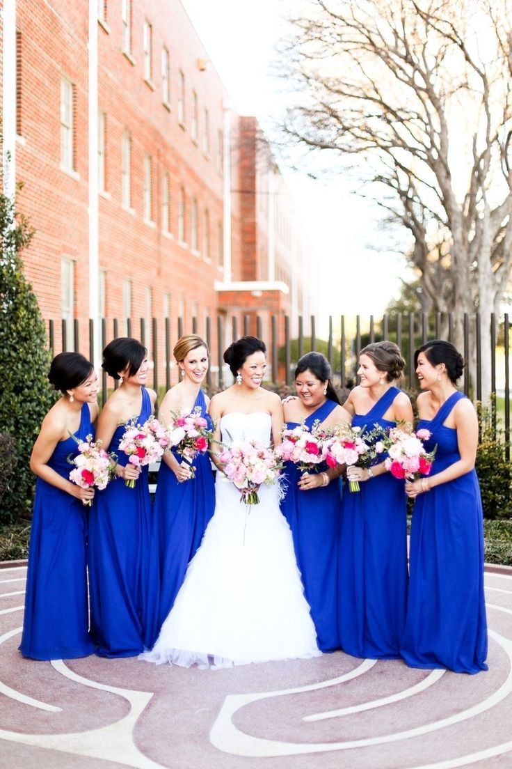25 cute cobalt bridesmaid dresses ideas on pinterest royal blue dallas wedding at the filter building from tucker images cobalt bridesmaid dressesroyal ombrellifo Image collections