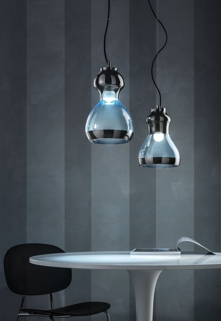 Glass pendant lamp - Euroluce Lampadari