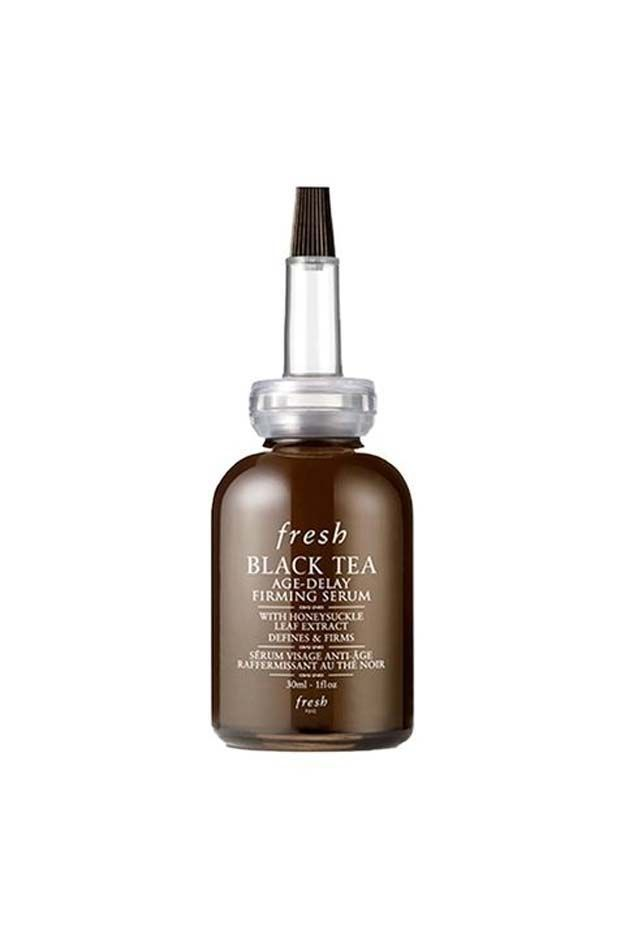 Best Beauty Products For Your 30s - Fresh Black Tea Age-Delay Firming Serum - The Best Beauty Products and Tips and Tricks For Your 30s. Great Make Up And Skin Care Routines And Regimens For You To Look Young And Vibrant. Looking For The Best Skin-Care Routine For Your 30s? We Cover Routines That You Need To Follow For Anti-Aging As Well As Eye Products, Skin Products, and Face Cream to Stay Hydrated. Check Out These Tutorials To Know What To Do In Your 30s For Skin Care and Beauty…