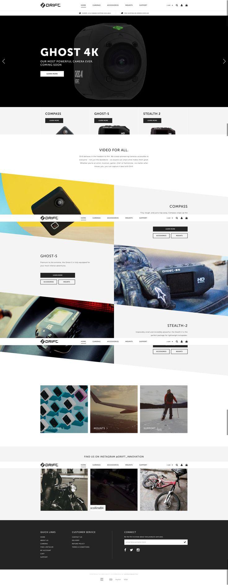 Drift Innovation - Our responsive website design