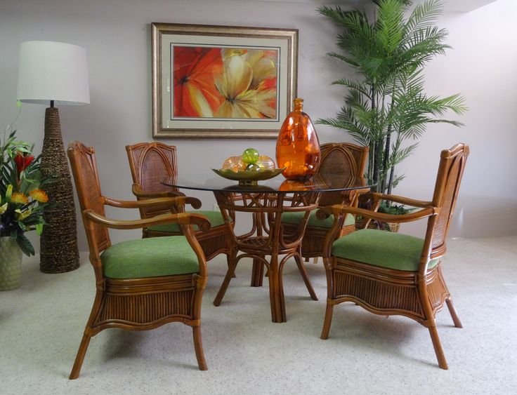 Shop For The Best Island Style Furniture In Maui Choose From A Variety Of Wood Finishes Different Table Tops Rattan Or Wicker Chairs And Upholstered