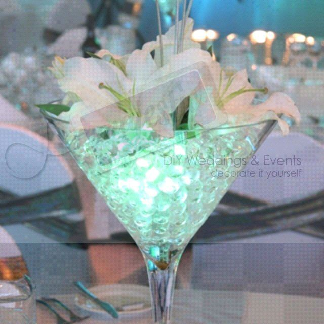 perles d'eau vase deoc table