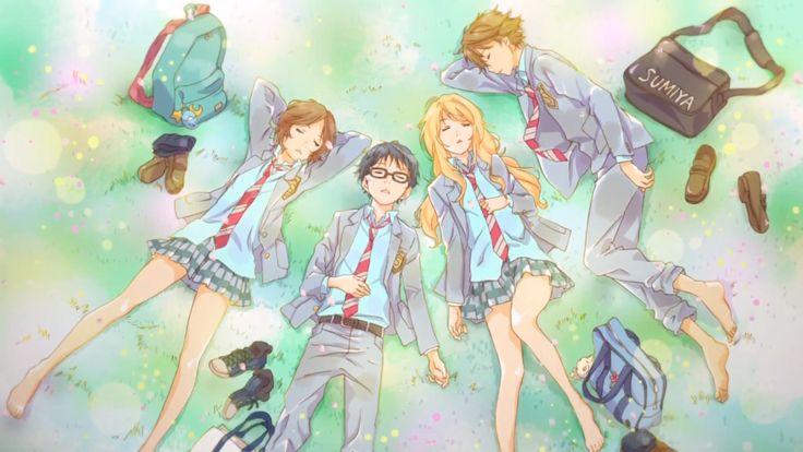 Your Lie In April Wallpaper Hd: Hd Shigatsu Wa Kimi No Uso, Your Lie In April Wallpaper