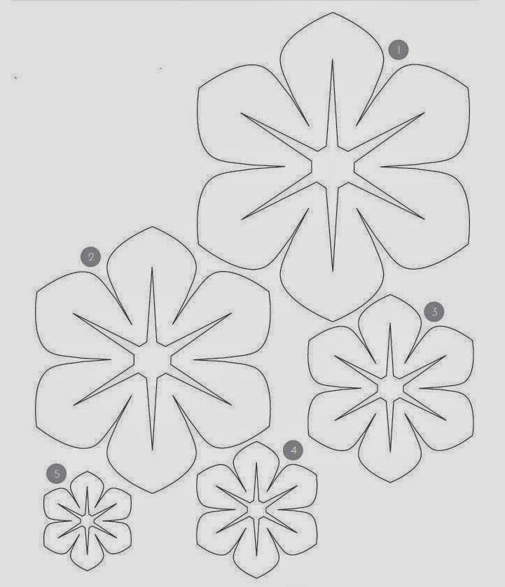 1983 best images about como hacer flores de papel on - Como hacer flores de papel ...