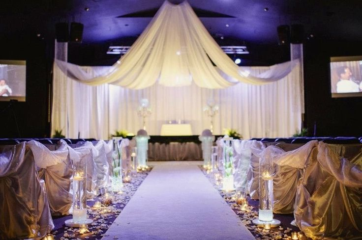 Wedding Elegant Events Ceiling Drape Pipe And Drape