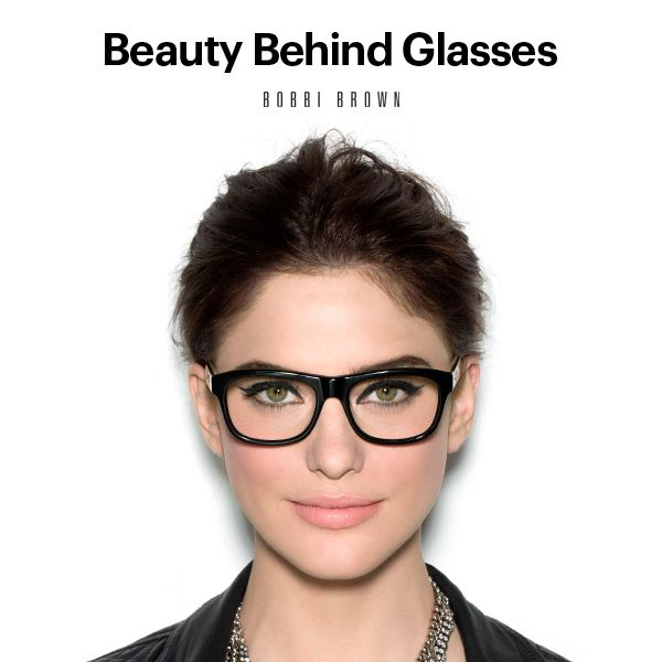 Bobbi Brown Makeup Lessons: Beauty Behind Glasses