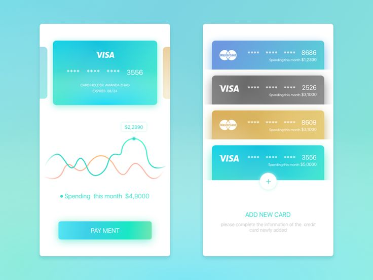 For credit card statement inquiring and payment by amanda #Design Popular #Dribbble #shots