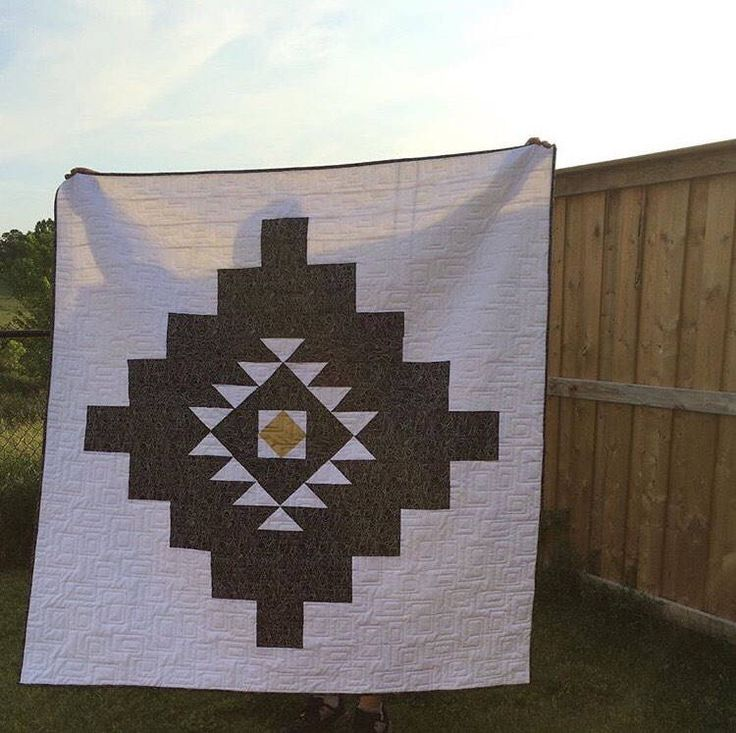 A personal favorite from my Etsy shop https://www.etsy.com/ca/listing/512260662/desert-oasis-quilt