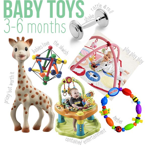 Toys For 3 Months : Ideas about baby toys months on pinterest best