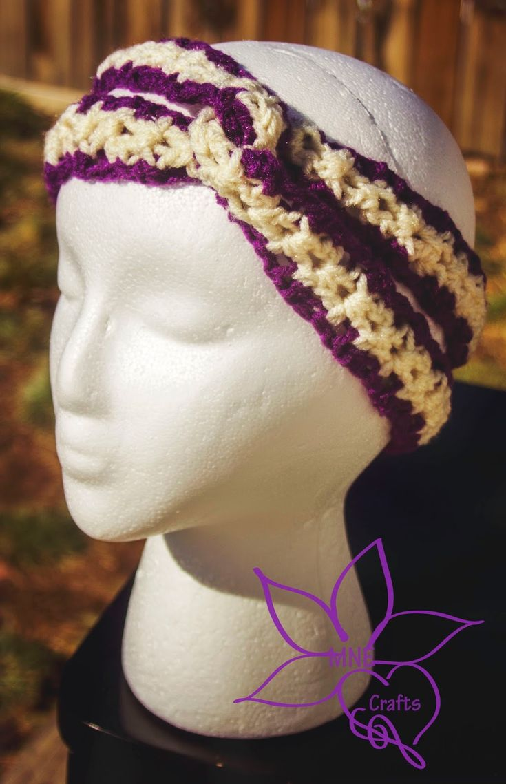 90 best Crochet ~ Headbands images on Pinterest | Crochet headbands ...