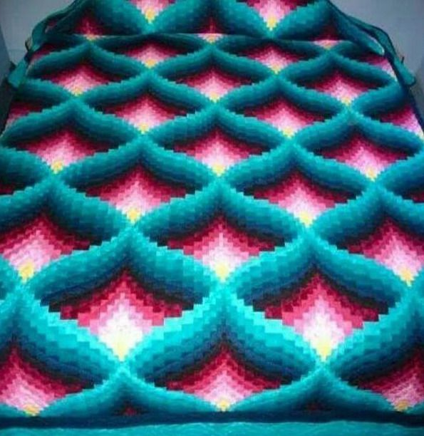 Crochet Patterns That Look Like Quilts : Crochet afghan patterns, Afghan patterns and Crochet afghans on ...