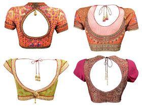 South India Fashion: Bridal Saree Blouse designs