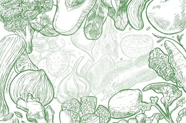 Download Hand Drawn Food Background for free in 2020 Food drawing How to draw hands Food backgrounds