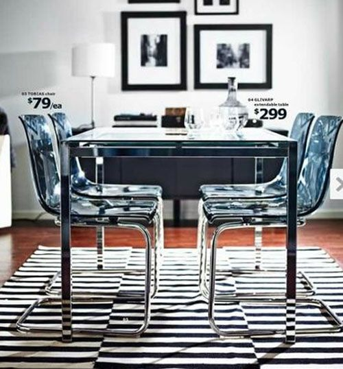 ikea glivarp table tobia chairs pieces pinterest home chairs and furniture. Black Bedroom Furniture Sets. Home Design Ideas