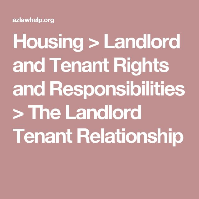 landlord and tenant relationship in nigeria