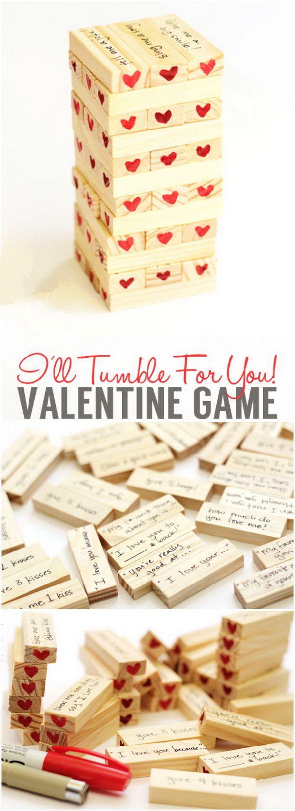 Easy DIY Valentine's Day Gifts for Boyfriend | Gift, DIY Valentine and Craft