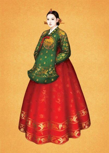 Hanbok illust