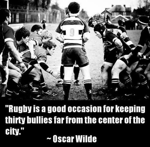 Rugby is good for