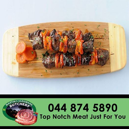 Try out this recipe for Apricot and #Ostrich #Kebas - for full recipe click here: http://on.fb.me/1cqgcUP. #butchery