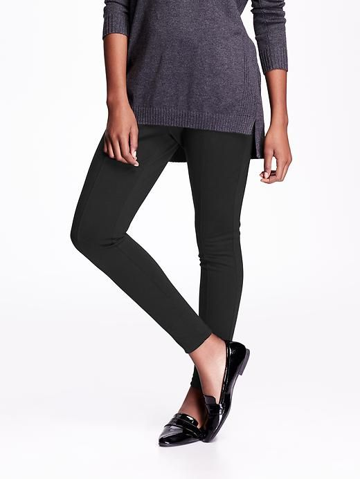 Old Navy Women's Ponte-Knit Leggings
