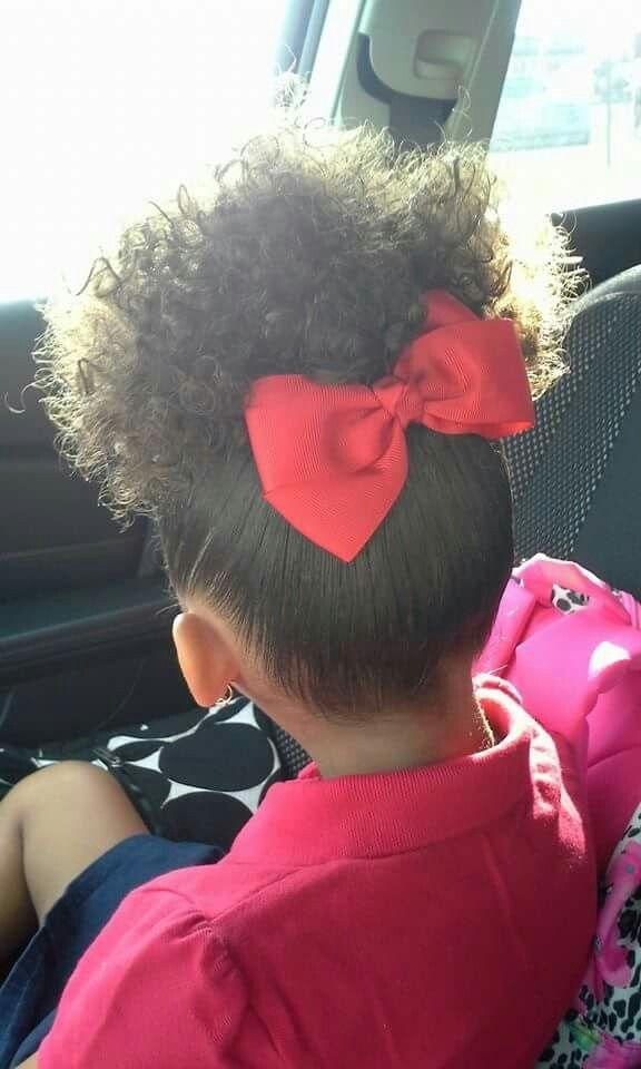 Awe Inspiring 1000 Ideas About Mixed Girl Hairstyles On Pinterest Mixed Girls Short Hairstyles For Black Women Fulllsitofus