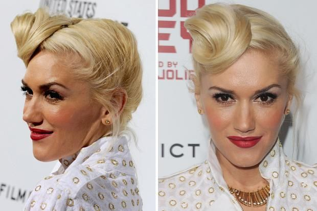 40ies hair wave and how to do - Gwen Stefani