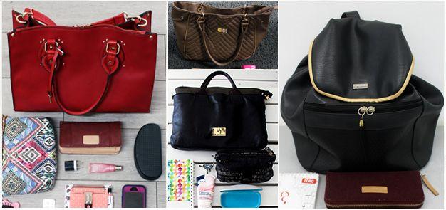 ¿Qué guardan las mujeres en su cartera?
