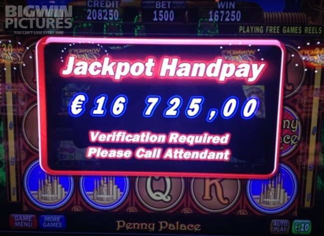 BigWinPictures.com: 16.725€ BIG WIN with 150€ bet on IGT's Penny palace slot!