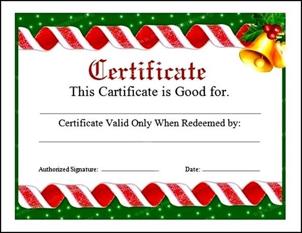 The 25+ best Voucher template word ideas on Pinterest Gift - Christmas Certificates Templates For Word