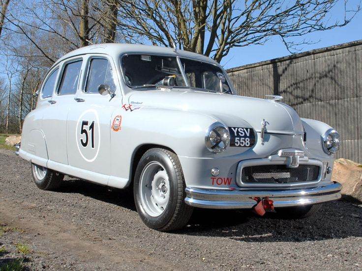 1951 Standard Vanguard Historic Race Car Auction Classic