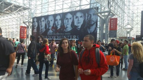 Banner from NY Comic con posted on 10/6/16