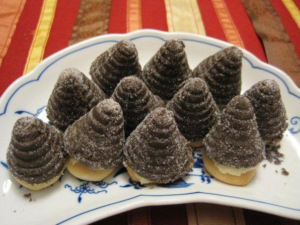 "Czech treats "" bee hives"""