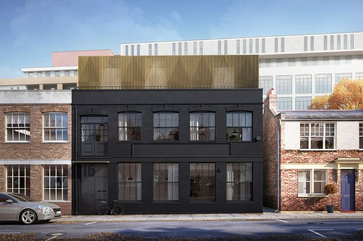 Hackney warehouse extension and conversion to flats - Architecture for London http://www.architectureforlondon.com/