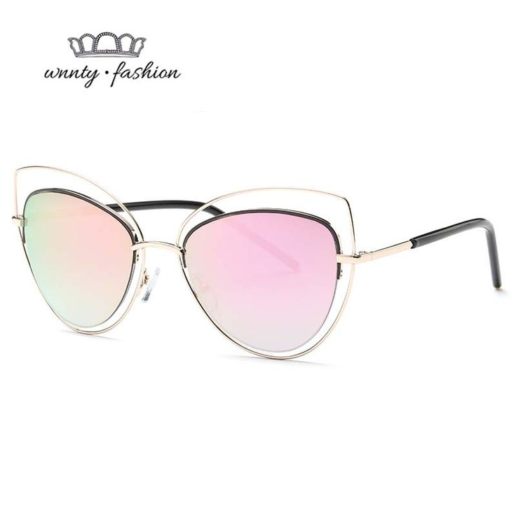>> Click to Buy << Wnnty 2017 Fashion Sexy Cat Eye Sunglasses for Women Retro Gatos Vintage Sun Glasses Trending Monturas Gafas Ultraligeras UV400 #Affiliate