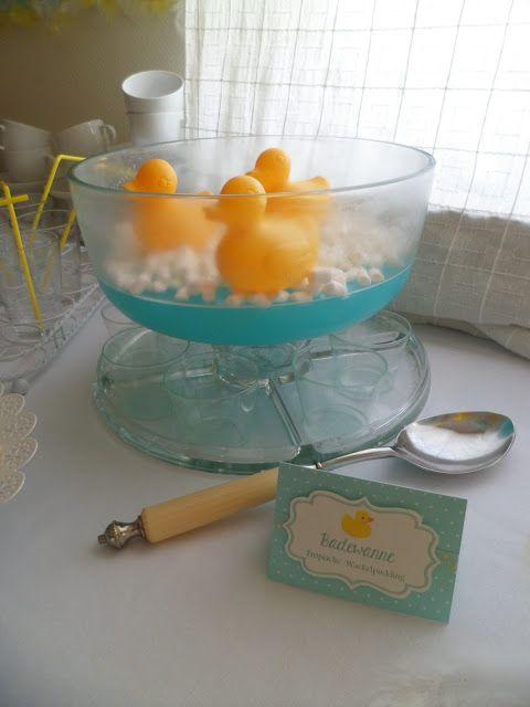 Cookies-olé: Recetas de la Patofiesta 4: La bañera de gelatina azul tropical
