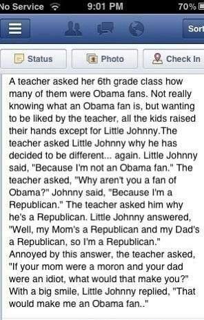 More Republican humor.
