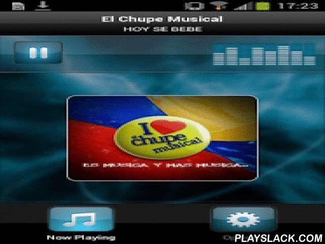 El Chupe Musical  Android App - playslack.com ,  Plays El Chupe Musical - EcuadorECUATORIANA HD RADIO TRANSMITTING FROM NEW YORK BEST MUSIC GENRES LIKE SALSA MERENGUE BACHATA CUMBIA NATIONAL AND MUCH MORE ... VISIT www.elchupemusical.com